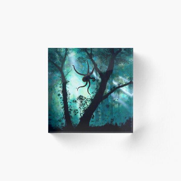 The Tree Octopus Acrylic Block