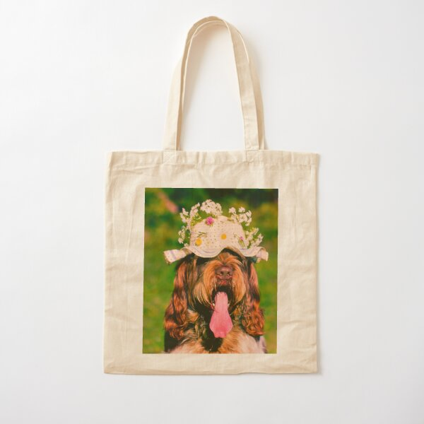 Summer afternoon at a picnic Spinone Cotton Tote Bag