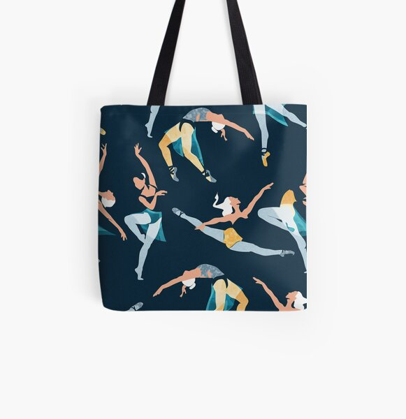 Suspended Rhythm All Over Print Tote Bag