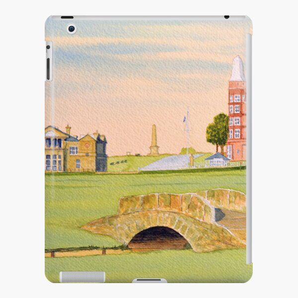 The greatest golf course in Scotland. iPad Snap Case
