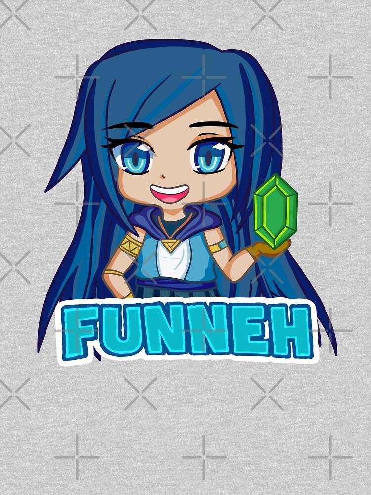 Funneh Blue Hair Gamer  by pickledjo