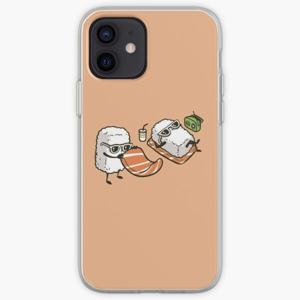 Sushi on the Beach iPhone Soft Case