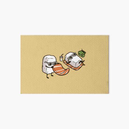 Sushi en la playa Lámina rígida