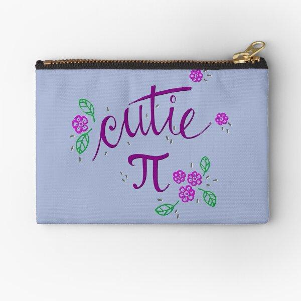 Cutie Pi (Purple) Zipper Pouch