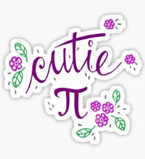 Cutie Pi (Purple) Sticker