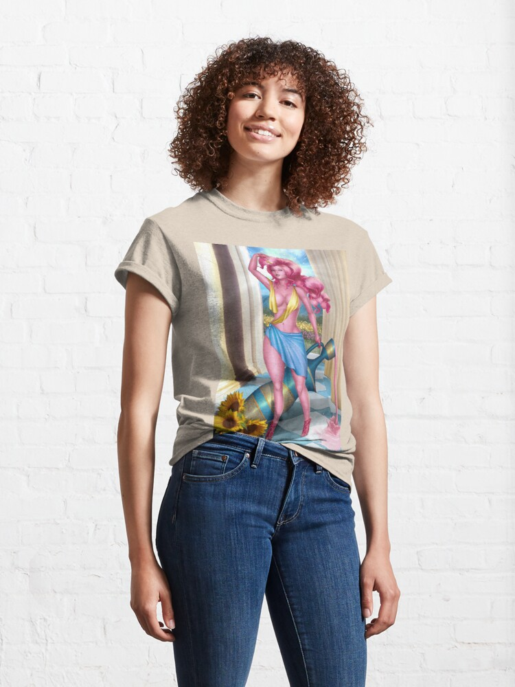 Alternate view of Goddess Of Happiness Greek Classic T-Shirt