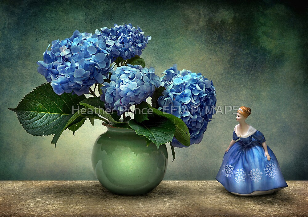 Lady in Blue by Heather Prince