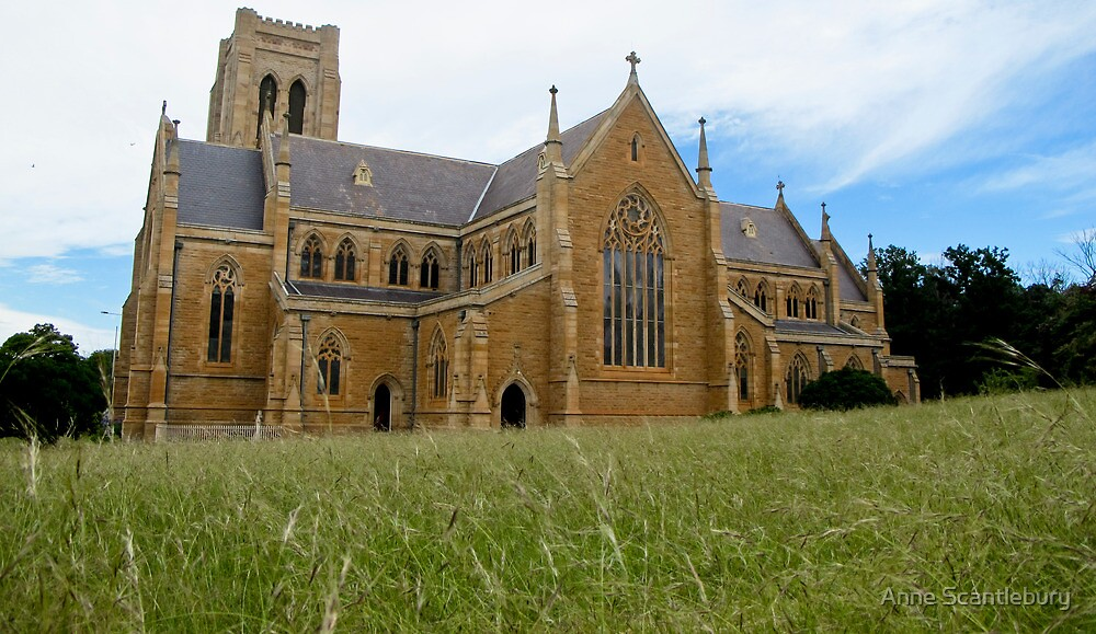 Goulburn Cathedral by Anne Scantlebury