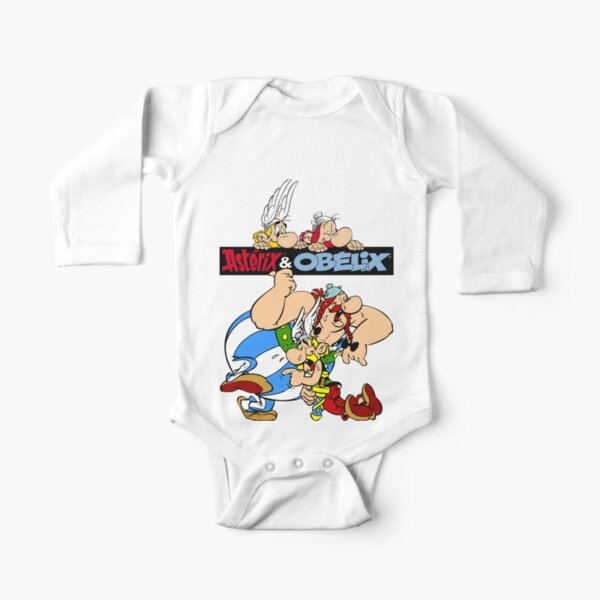 Asterix and Obelix Long Sleeve Baby One-Piece