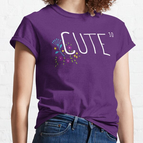 Cute to the power of 10 Classic T-Shirt