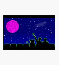 Mystery Science Timey-Wimey Photographic Print