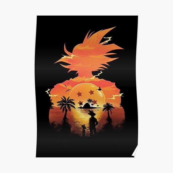 Dragon Ball Sunset Poster
