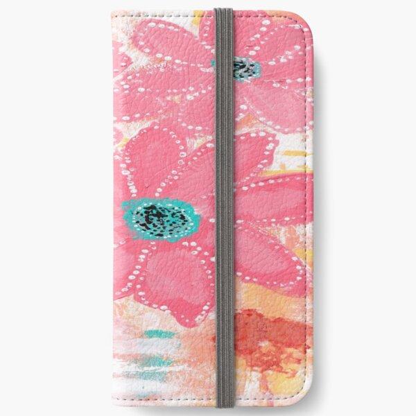 Coral Garden iPhone Wallet