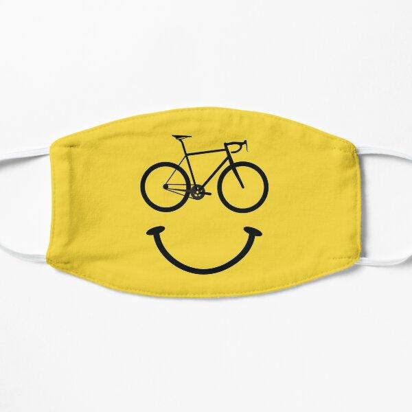 Visage souriant de bicyclette Masque sans plis