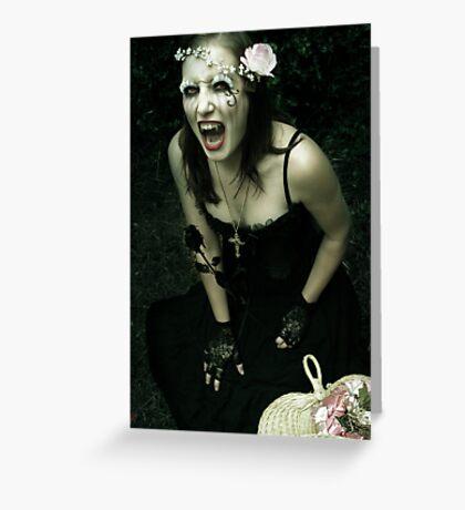 Scream Greeting Card