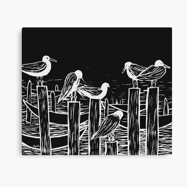 Venice Gulls Canvas Print