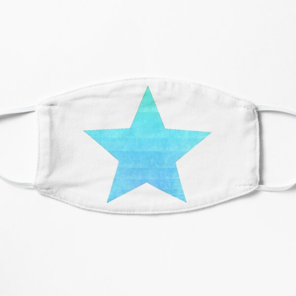 Blue Star Mural Blue mural Star Star Big Blue Mask