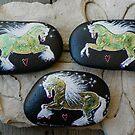Rock 'N' Ponies - STAR GOLD PONIES by louisegreen