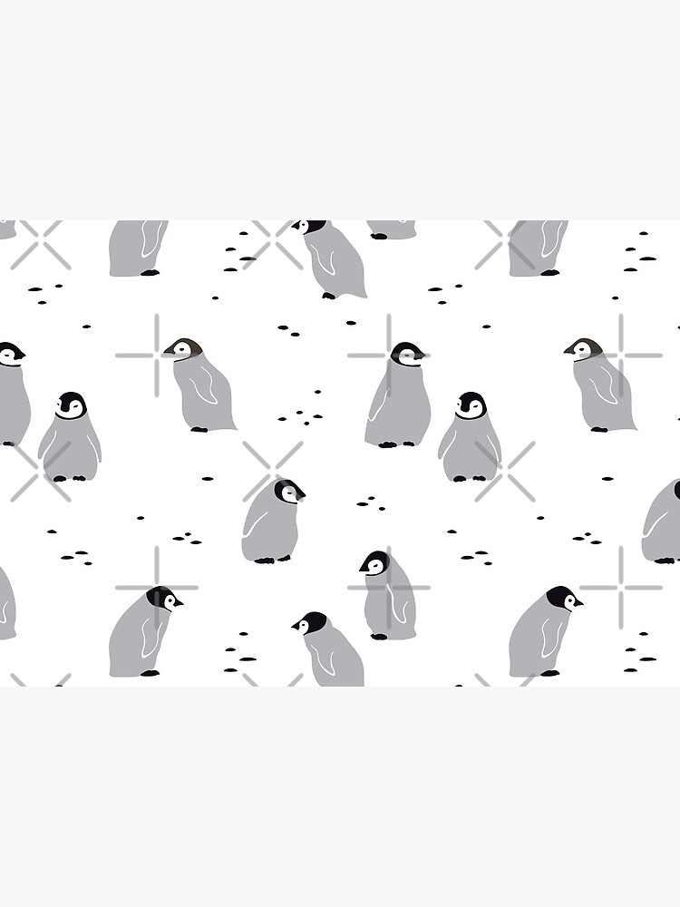 Baby Emperor penguin Chicks  by Miri-Noristudio
