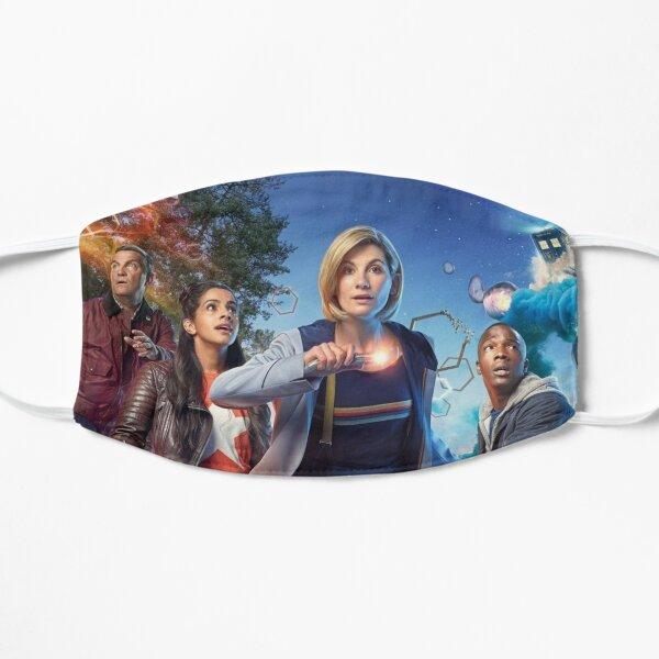 The Team TARDIS Fam Flat Mask