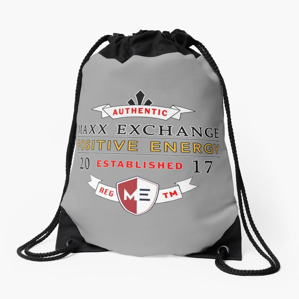 Maxx Exchange Positive Energy Smile Spiritual Motivation. Drawstring Bag