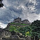 The Castle from St Cuthberts by Tom Gomez