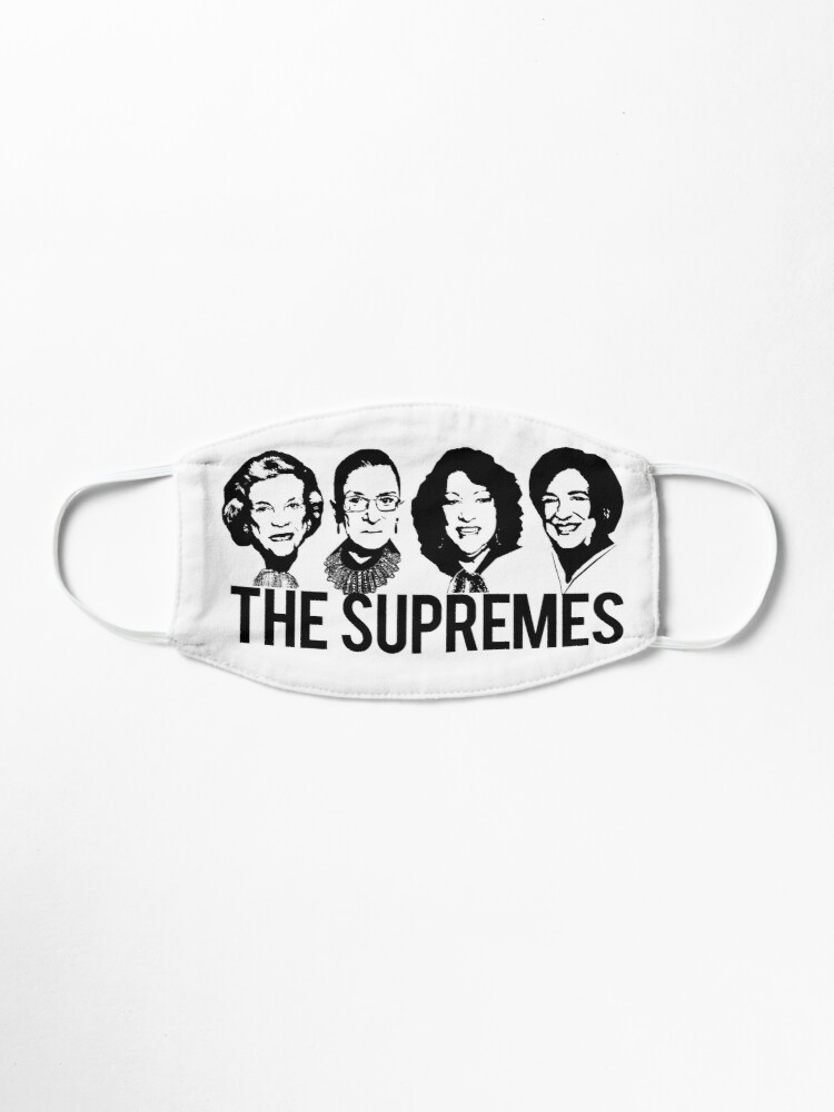 Alternate view of THE SUPREMES Supreme Court RBG Sotomayor Kagan Meme  Mask
