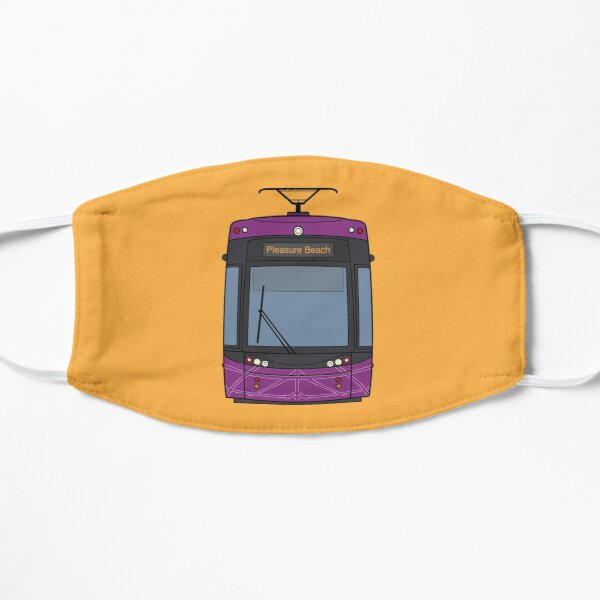 Blackpool Tram Flat Mask