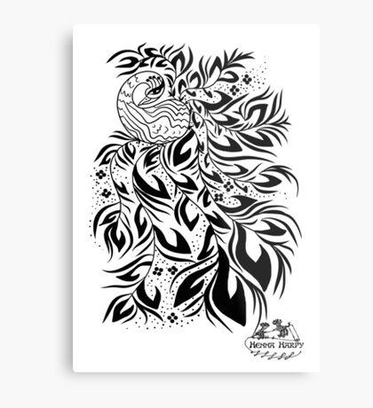 Peacock #4 Metal Print