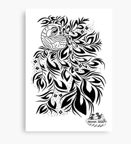 Peacock #4 Canvas Print