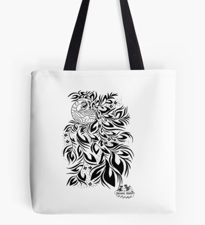Peacock #4 Tote Bag