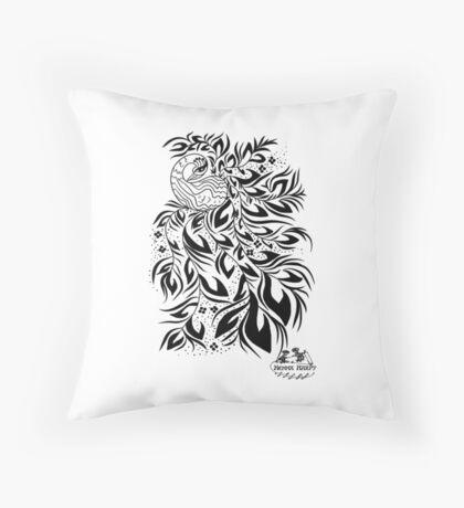 Peacock #4 Throw Pillow