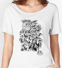 Peacock #4 Women's Relaxed Fit T-Shirt