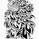 Peacock #4 by ellejayerose