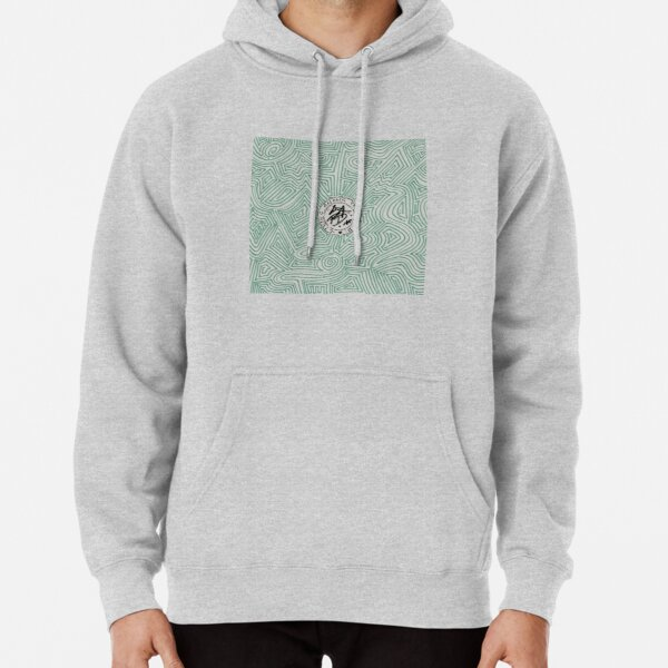 Living Among The Dead logo Pullover Hoodie