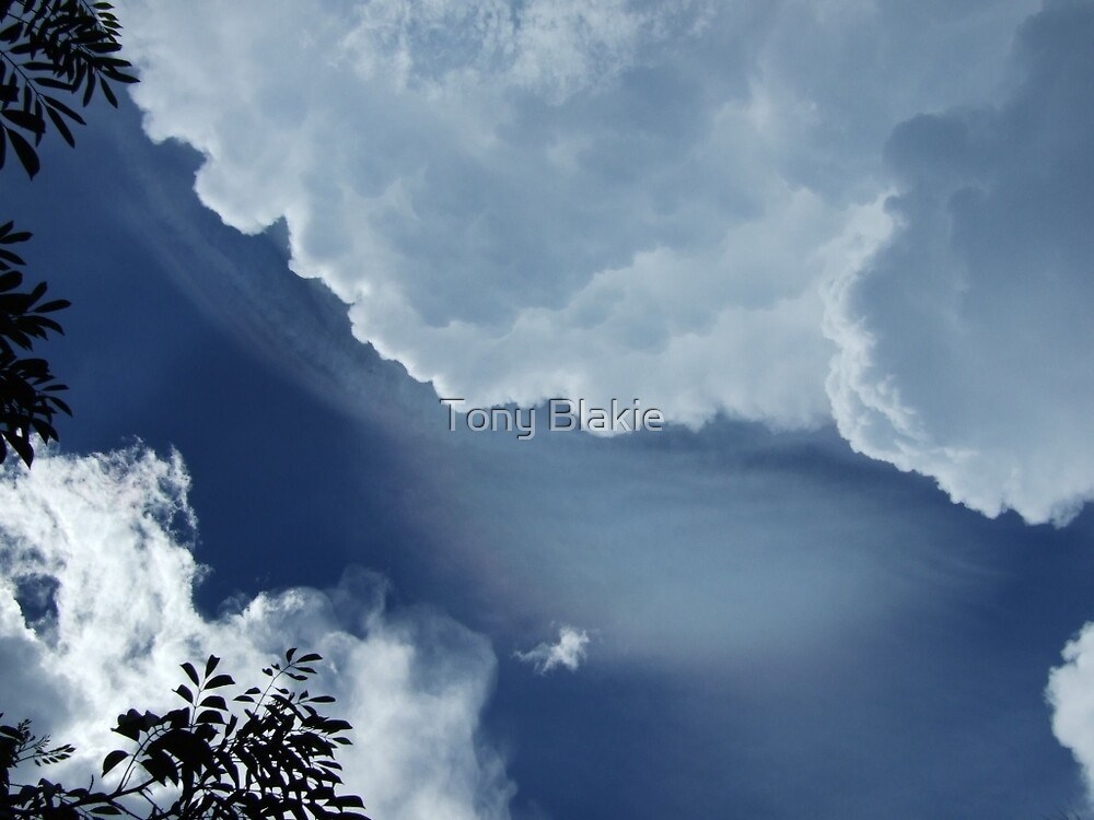 Clouds over Chichen Itza by Tony Blakie