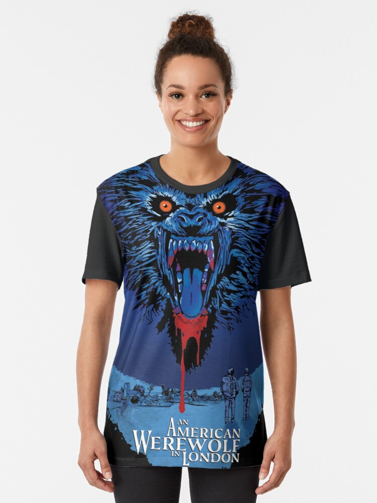 Alternate view of An American Werewolf in London Graphic T-Shirt