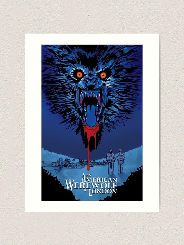Alternate view of An American Werewolf in London Art Print
