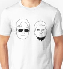 Dwight and Mose (Black on White) T-Shirt