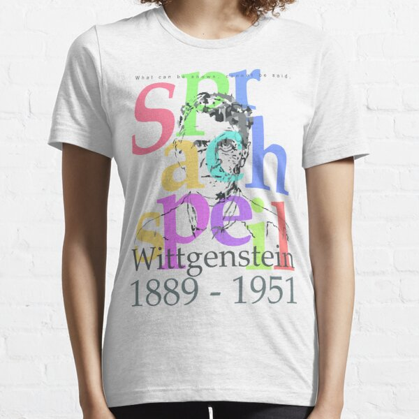 Wittgenstein Essential T-Shirt