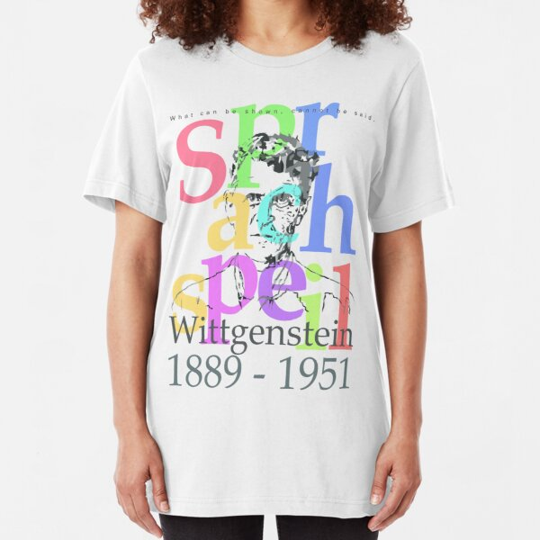 Wittgenstein Slim Fit T-Shirt