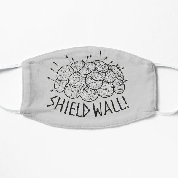 Shield Wall! Mascarilla plana