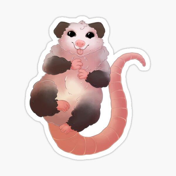 Adorable Baby Opossum  Sticker