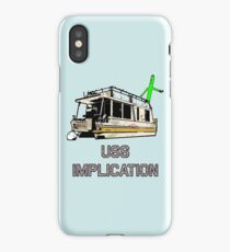 USS Implication iPhone Case