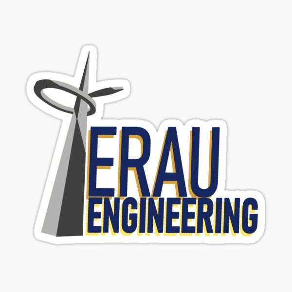 Embry-Riddle Engineering Sticker
