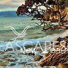 NZ Seascapes 4 by Ken Wright