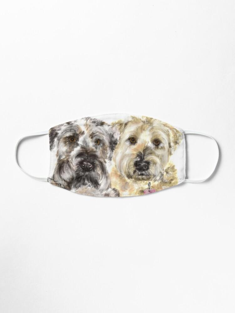 Alternate view of Wheaton Terrier Best Friends  Mask