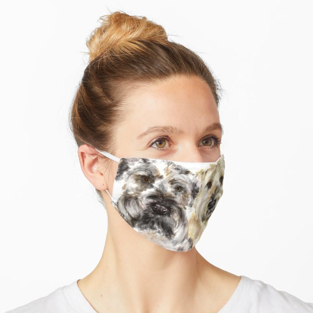 Wheaton Terrier Best Friends  Mask