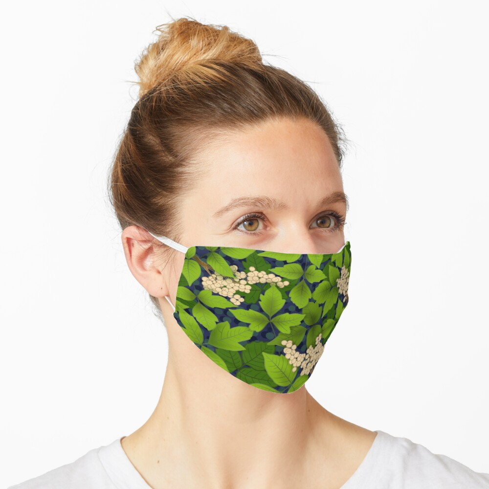 Poison ivy nightmare Mask