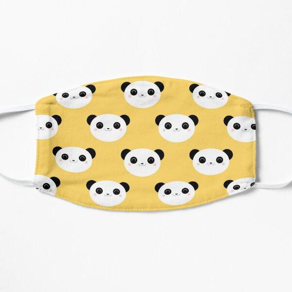 Cute Happy Panda Pattern Flat Mask